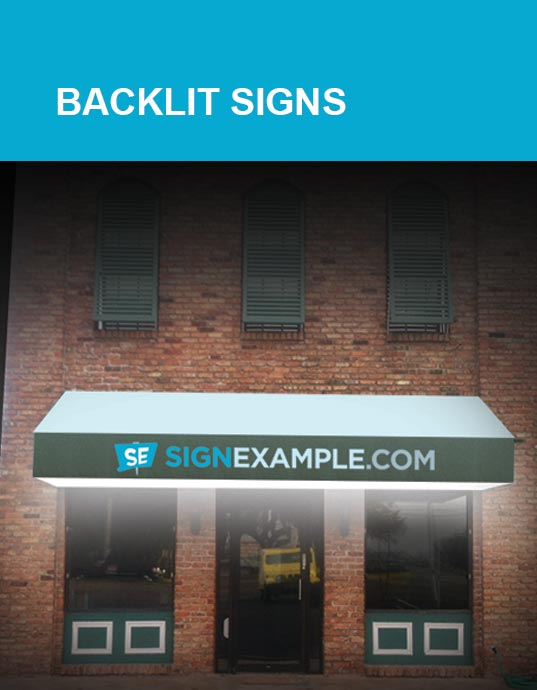 Backlit Sign Products