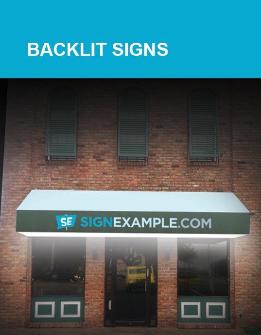 Backlit Signs
